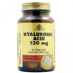 ACIDO HIALURONICO 30 COMP 120Mg Solga