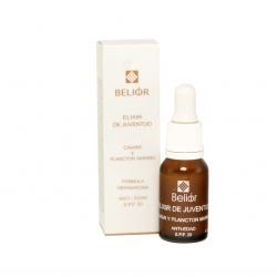 Elixir de juventud con caviar y fitoplancton marino, formula reparadora, antiedad, SPF 20