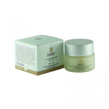 Crema hidratante para piel normal y mixta, SPF 20 (Hydraessence delice)