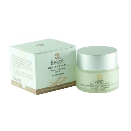 Crema hidratante antiarrugas para piel grasa, SPF 20 (Beliant mat)