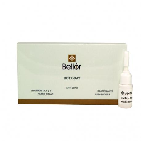 Ampollas efecto botox, complejo vitamínico antiedad.
