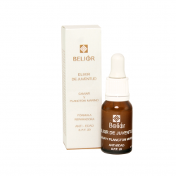 Elixir de juventud con caviar y fitoplancton marino, SPF 20, 15ml